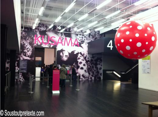 Vous avez raté Yayoi Kusuma au centre Pompidou… Offrez-vous une escapade à la Tate Modern de Londres. (1/4)