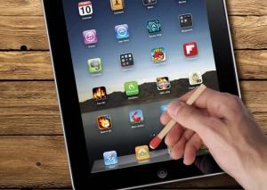 Stylet iStrike de Fred & Friends pour tablette et smartphone