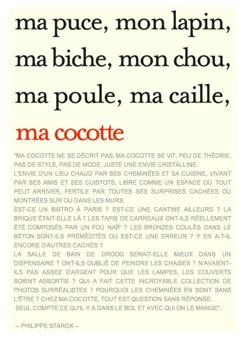 Chez Ma Cocotte… la fonte est fêlée ! (2/3)